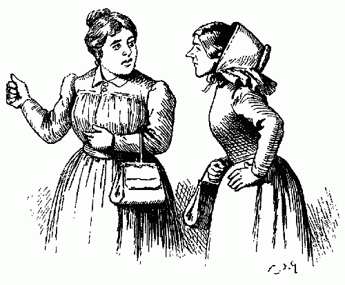 Public Domain images two ladies gossiping girls telling