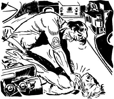 Public Domain images 26 fighting men strangling man on ground